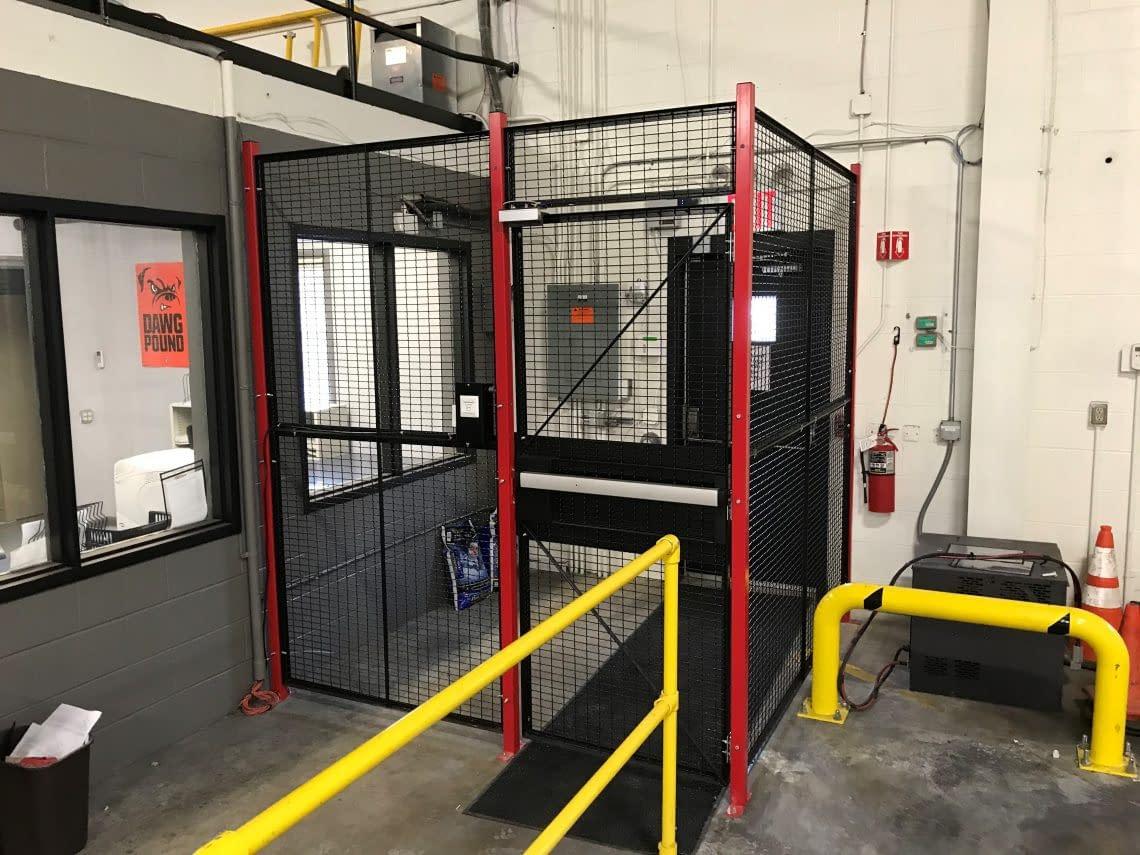 driver-access-cage